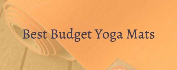 Best Budget Yoga Mats